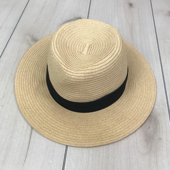 752fe17ad90f9e Cost Plus World Market Accessories - World Market Panama Sun Hat with Black  Band